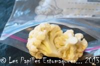 Congeler le chou fleur ou chou romanesco les papilles estomaqu es les papilles estomaqu es - Comment congeler des haricots verts du jardin ...