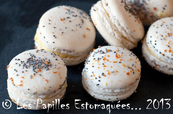 Macarons orange pavot 02