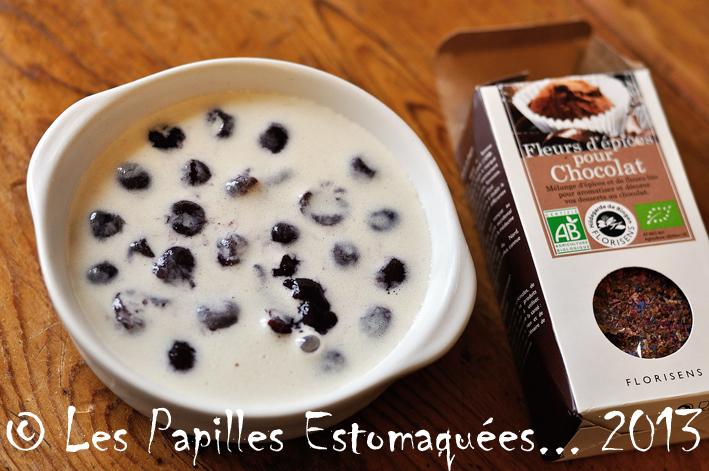 Clafoutis cerises fleurs epices pour chocolat florisens 02