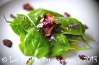 Salade epinards chips legumes et ciboulette 02