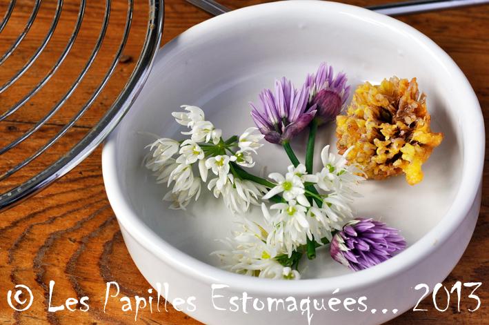 Tempuras fleurs