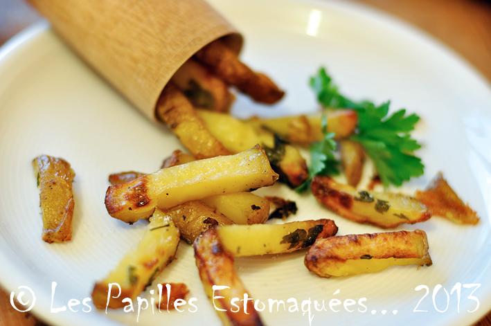 Frites de pomme de terre persil ail paprika 01
