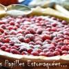 Tarte rhubarbe fraise crumble pistache menthe graines courge 04