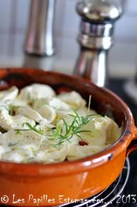 Casserole tomates courgettes oignon estragon mozzarella 01