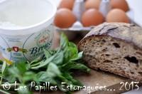 Corse omelette la brousse brocciu ou bruccio et au basilic les papilles estomaqu es - Comment congeler des haricots verts du jardin ...