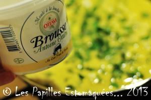 Omelette brousse basilic 07