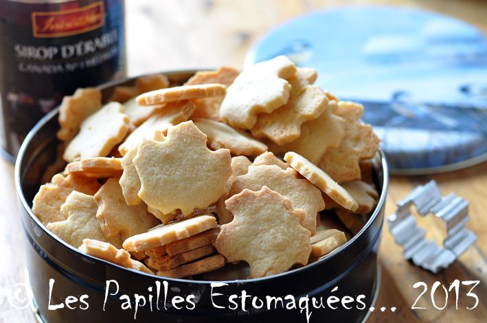 Biscuits erable 07