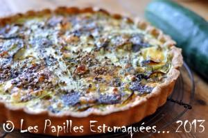 Tarte concombre feta roquefort pavot aneth ciboulette fleur 05