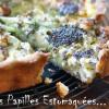 Tarte concombre feta roquefort pavot aneth ciboulette fleur 06