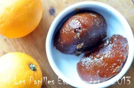 Ecorces oranges confites