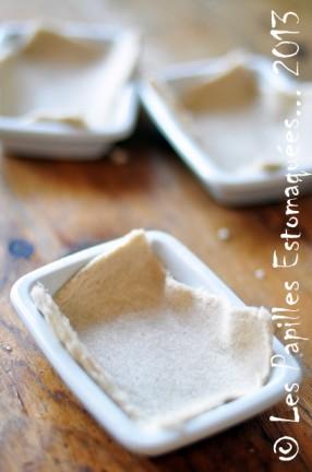 Oeuf sur nid de pain de mie et de bettes aux champignons 05