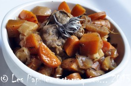 Porc panais carotte navet gingembre sauge