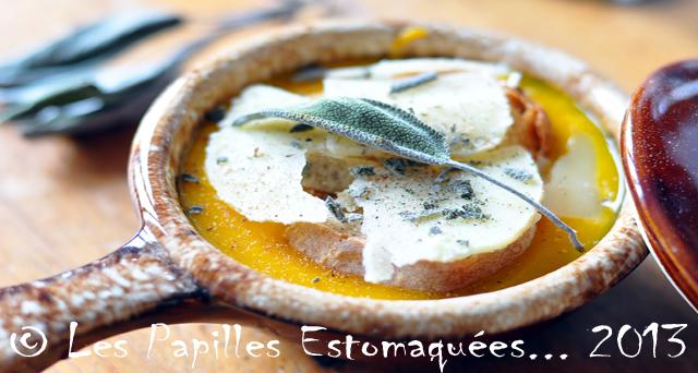 Soupe gratinee parmesan et sauge 02