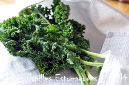 Chou vert frise kale preparation 01