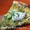 Pizza pesto ail des ours et brebis 01