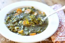 Soupe chou frise kale carotte poireau 01