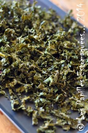 Chips chou kale frise vert 08