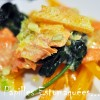 Medaillon saumon epinards et courge butternut