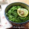 Pesto au chou kale, noix de cajou, parmesan et citron