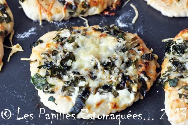 Pizza fane de chou rave pesto ail des ours 03