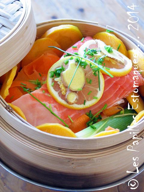 Saumon patate douce poireau carotte citron gingembre 01