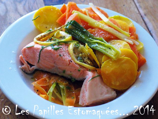 Saumon patate douce poireau carotte citron gingembre 02