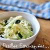 Salade choux race pointu citron ciboulette graines