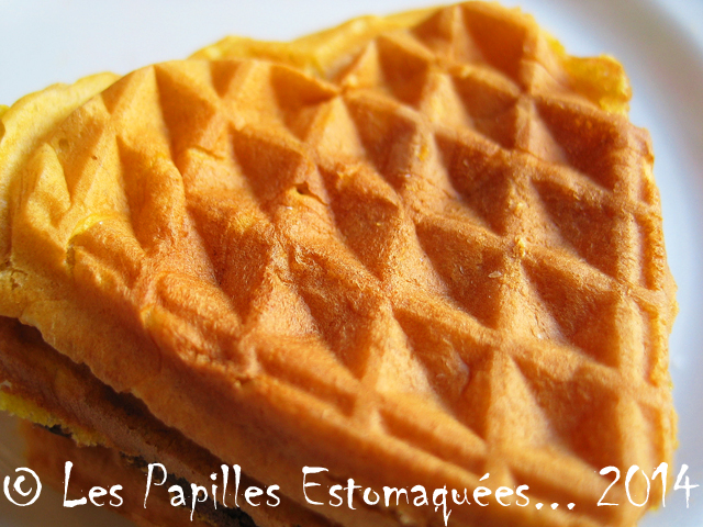 Gaufres courge ou patate douce