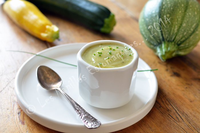 Soupe courgette curry