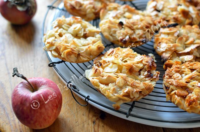 Tartelettes pommes amandes miel 01