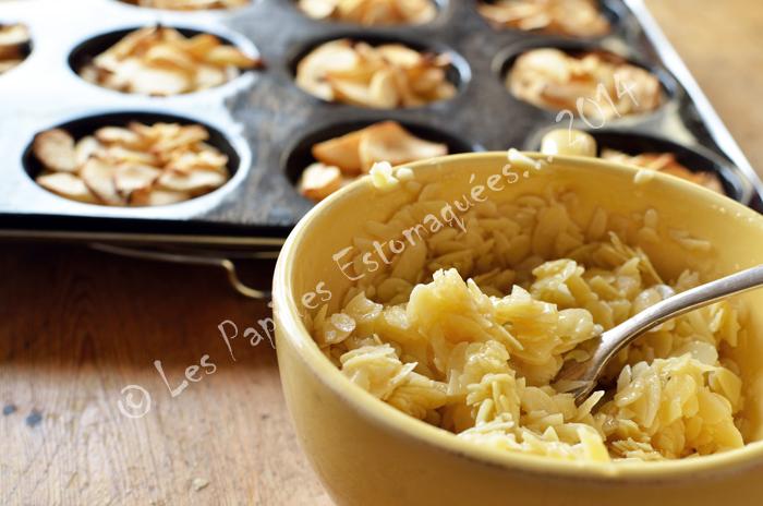 Tartelettes pommes amandes miel 02