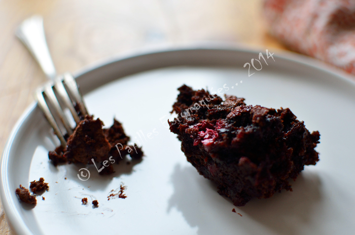 Brownie betterave framboise 03