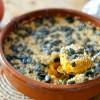 Gratin potimarron sucrine du berry mozzarella quinoa graines courge