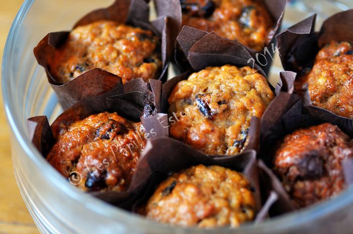 Muffins pommes canneberges raisin quebec 01
