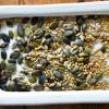 Graines sarrasin courge tournesol sel et huile olive 01