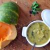 Soupe courge milk pumpkin lentille rouge roquette01