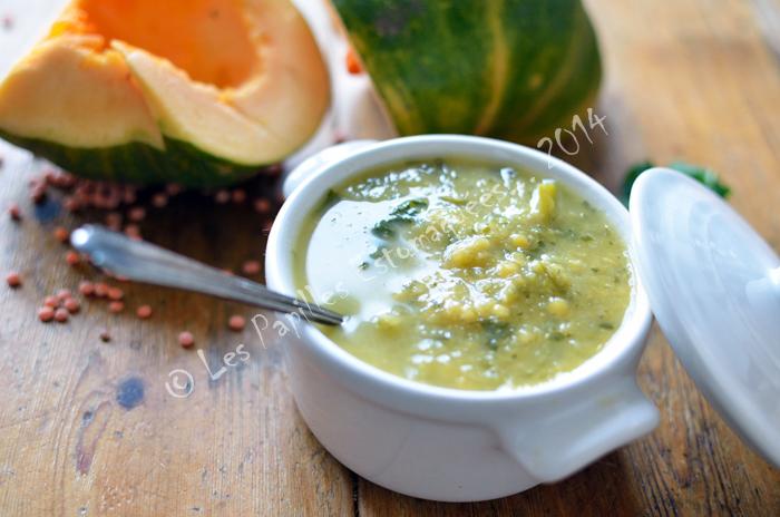 Soupe courge milk pumpkin lentille rouge roquette03