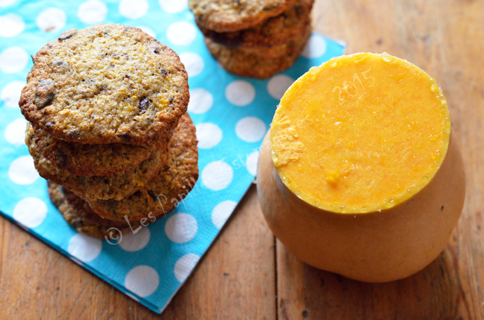 Biscuits courge butternut  chocolat 01