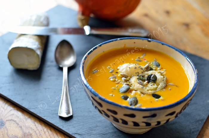 Soupe potimarron chevre 03