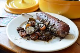 Staub saucisses de morteau aux lentilles et carottes - Comment cuisiner la saucisse de morteau ...
