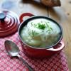Soupe aux topinambours et crème 02