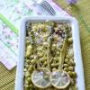 Asperges pois fleurs semoule 01