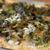 Pizza ail des ours blettes 01