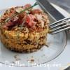 Presse panais celeri jambon foret noir quinoa pomme