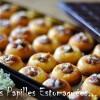 Tartelettes sans gluten a la confiture de rhubarbe et fleurs de sureau