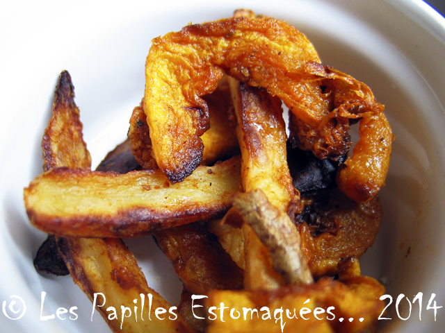 Frites De Pommes De Terre Et Courge Butternut Aux 4 Epices Les