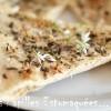 Pizza blanche ail des ours et marjolaine 02