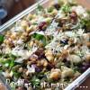 Salade lentilles canneberges ail des ours amande citron 02